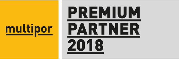 Qualitätssiegel Multipor Premiumpartner